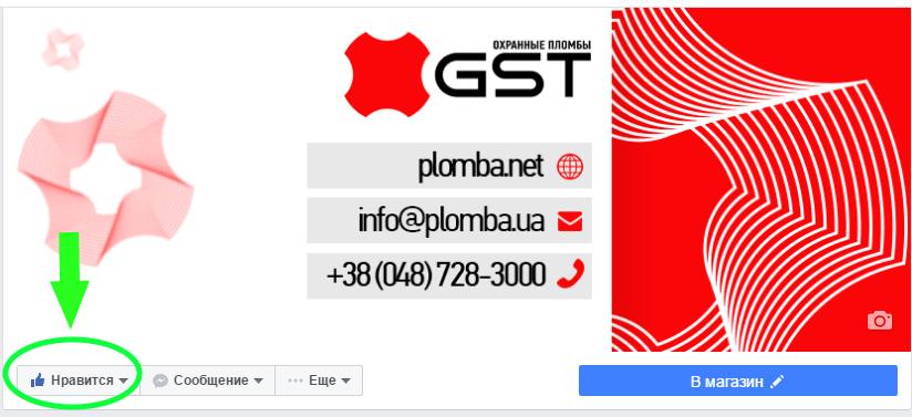 facebook like GST